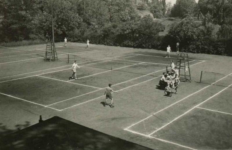 Alte Tennisanlage Großräschen Süd