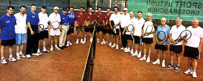 """Freizeitturnier 2003 Sieger: Team """"Sport aktuell"""""""