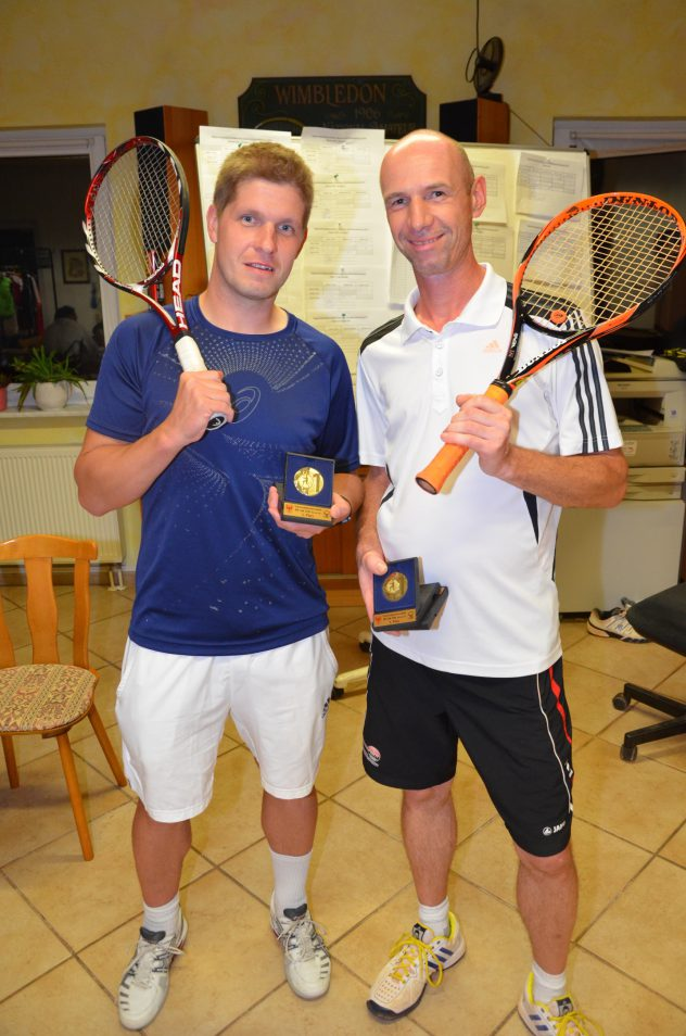 Regionalmeister Sommer 2016 Jens Pohle und Martin Baldzer